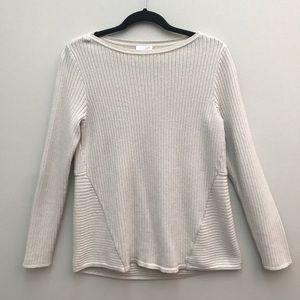 J Jill ribbed Sweater.  Size S.